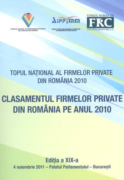 Anul 2010 – CCI – Bucuresti