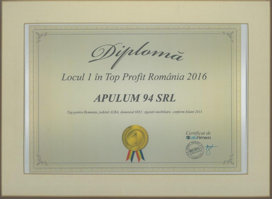 Top Profit Romania – 2016